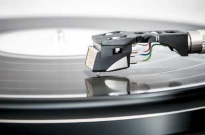 How do I keep my cat off my turntable?