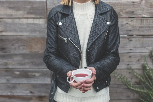Cat pee on leather jacket?