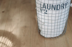 Cat proof laundry hamper.