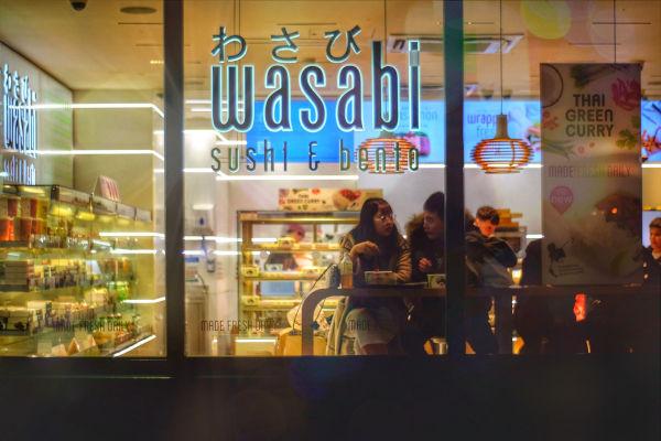 Wasabi Sushi Bar.