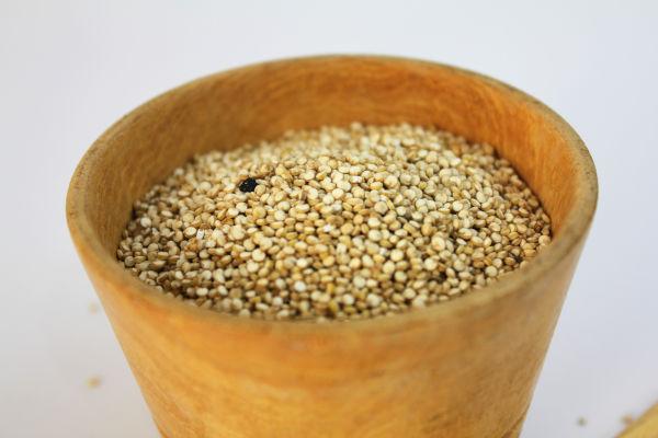 Amaranth in a bowl.
