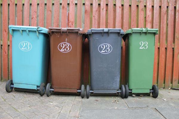 Can cat litter go in the green bin?